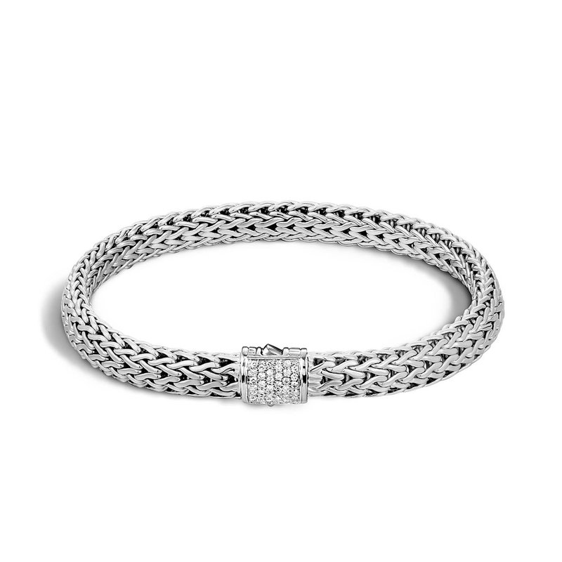 John Hardy Classic small chain bracelet with Diamonds