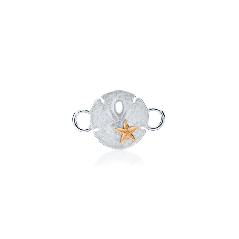Sand Dollar with Starfish changeable bracelet top