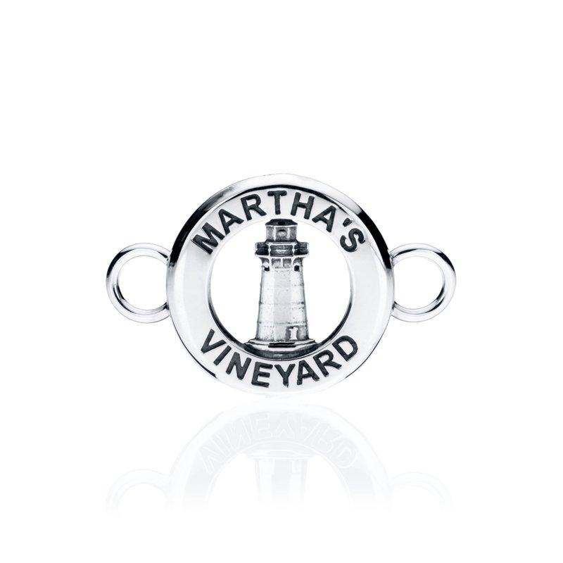 Edgartown Lighthouse Medallion changeable bracelet top