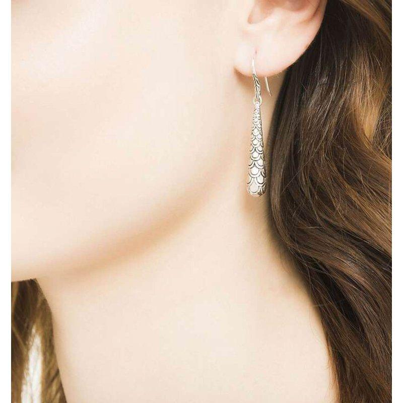John Hardy Naga Drop earrings