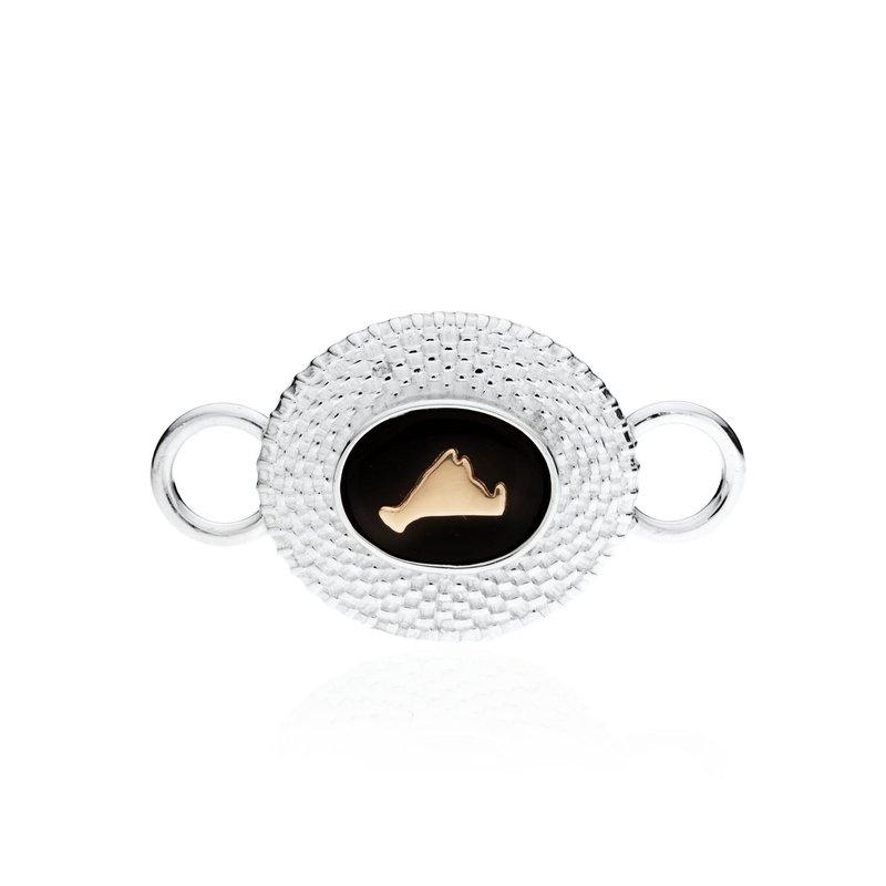 Martha's Vineyard Nantucket Basket Top Changeable bracelet top