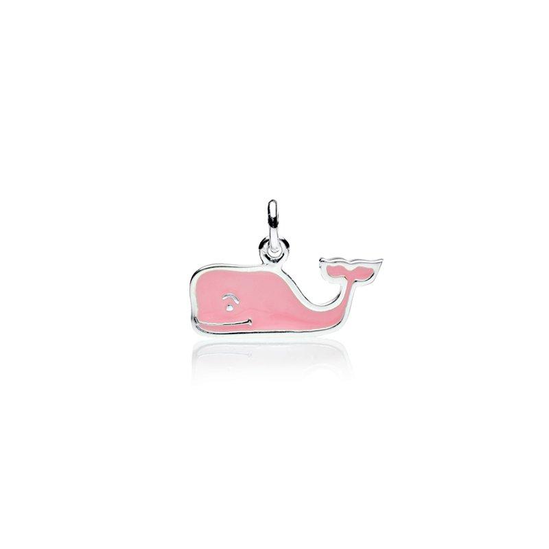 Vineyard Vines Pink Enamel Whale charm