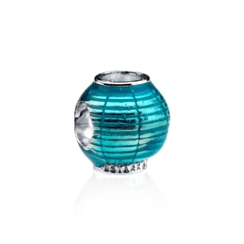 Illumination Lantern Enamel charm bead