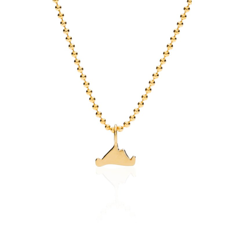 Mini Martha's Vineyard necklace in vermeil