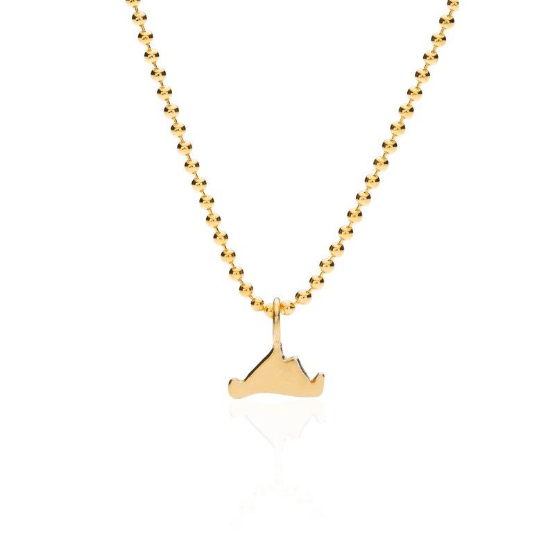 Mini Martha's Vineyard necklace in vermeil