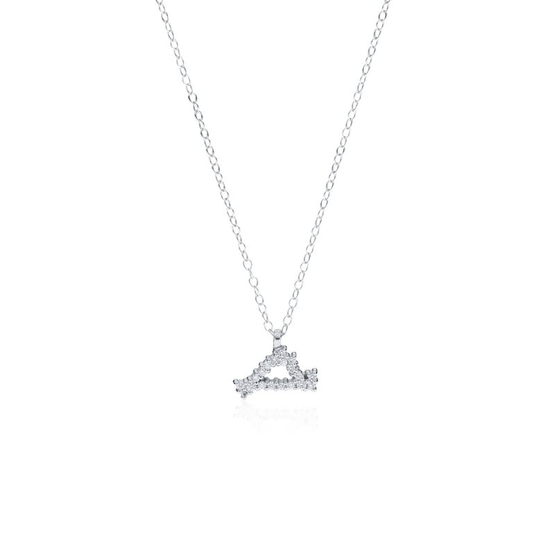 Mini Diamond Pave Martha's Vineyard necklace