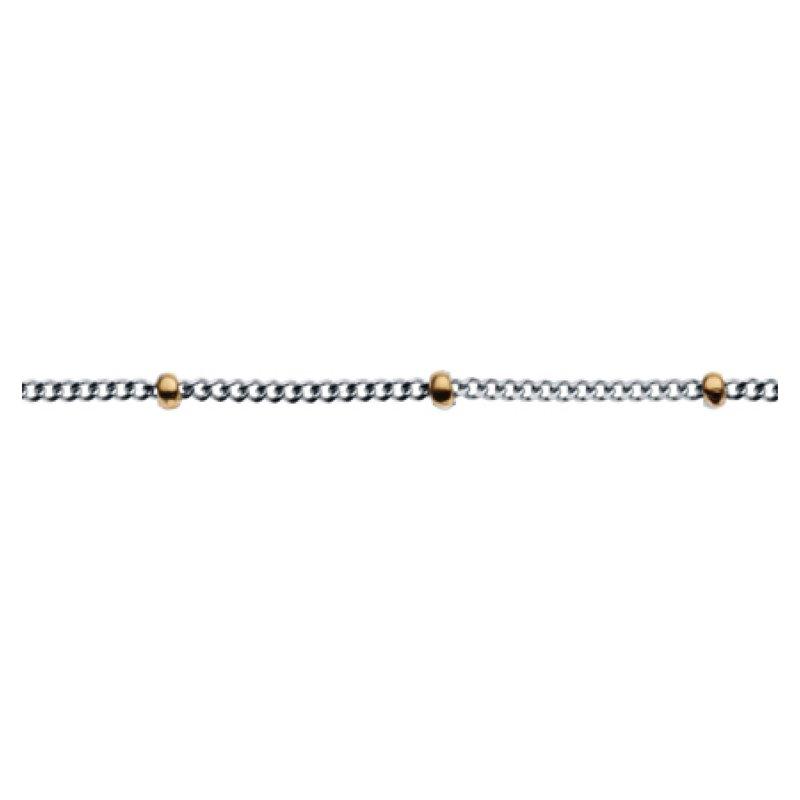 Two-tone bead chain