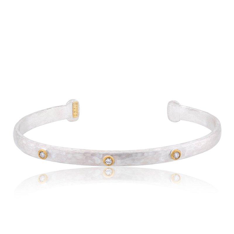 "Lika Behar ""Stockholm"" Diamond Cuff Bracelet"