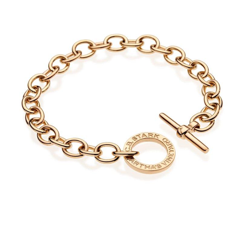 CB Stark Signature Toggle charm bracelet