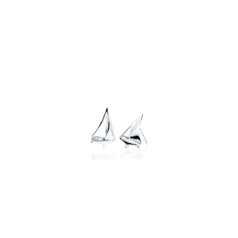 Sloop Sailboat earrings