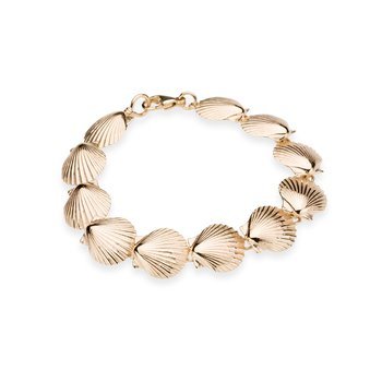Chilmark Scallop Shell medium bracelet