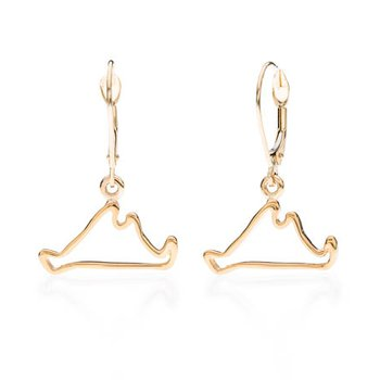 Martha's Vineyard Outline earrings