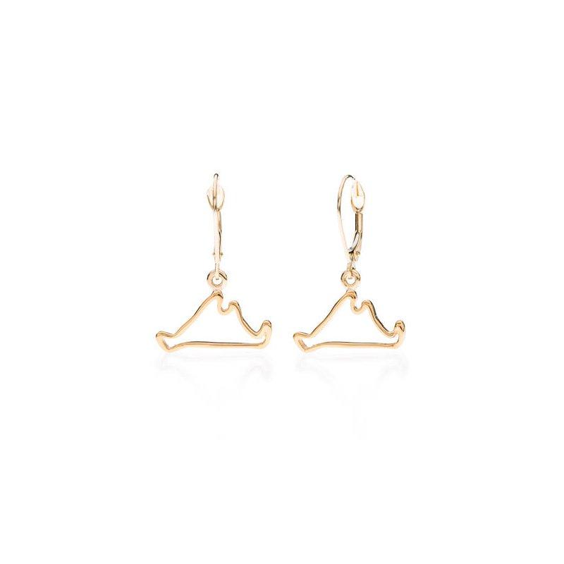 Martha's Vineyard Outline earrings