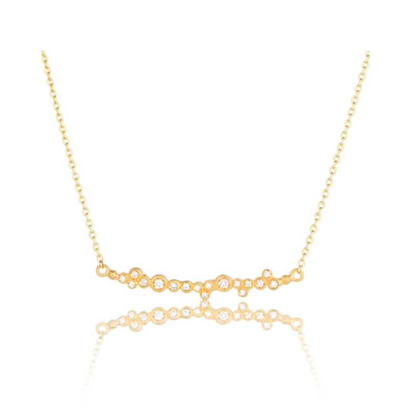 "Lika Behar ""Dylan"" Diamond Bar necklace"