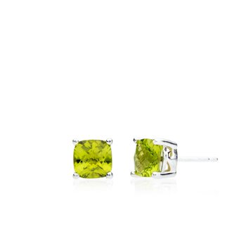 Wave Collection small earrings with peridot