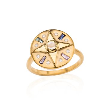 Compass Ring by Theresa Kaz