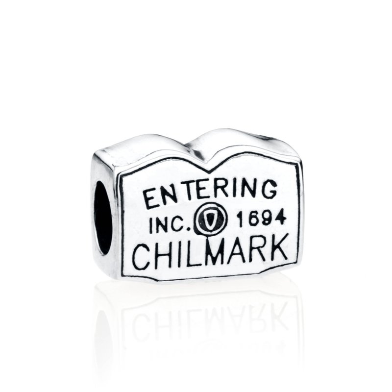 Entering Chilmark Town Sign bead