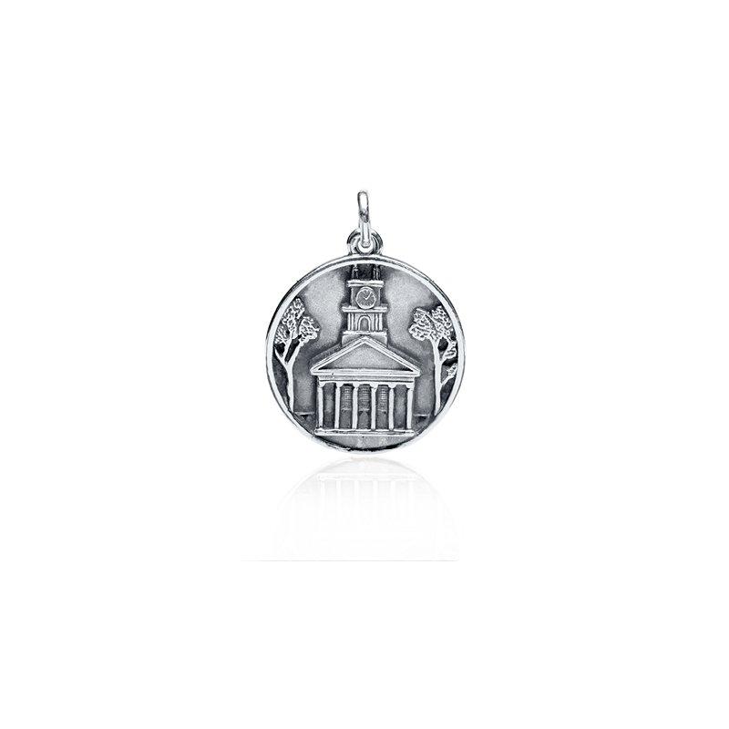 Old Whaling Church Medallion charm