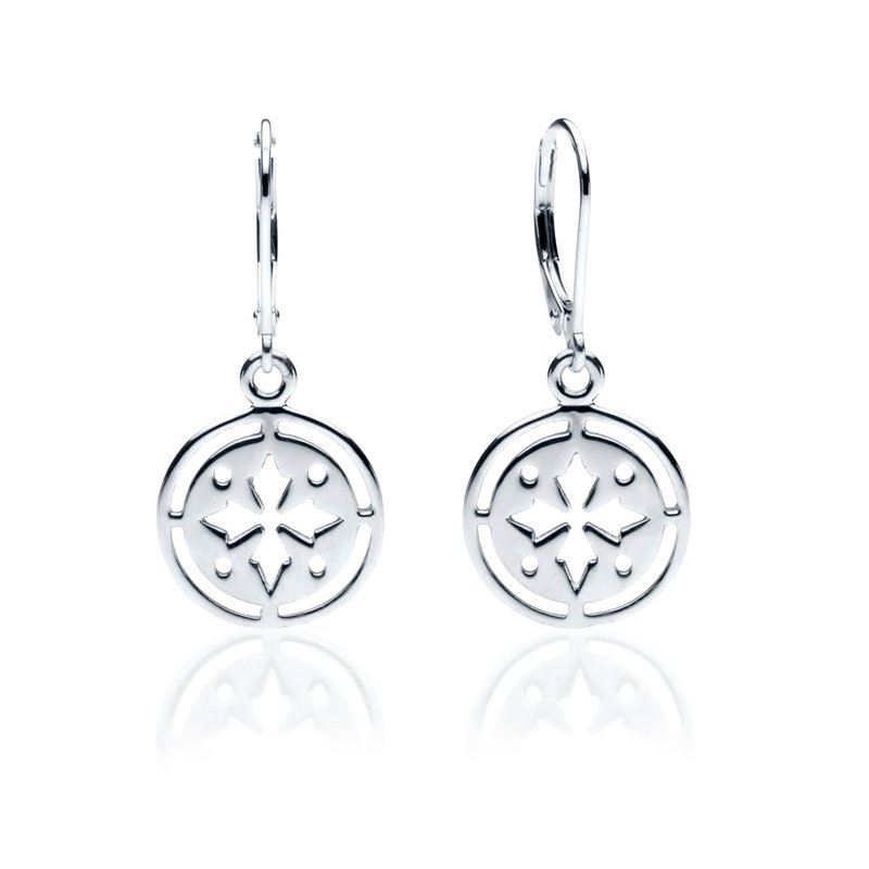 Gingerbread Collection Circle earrings