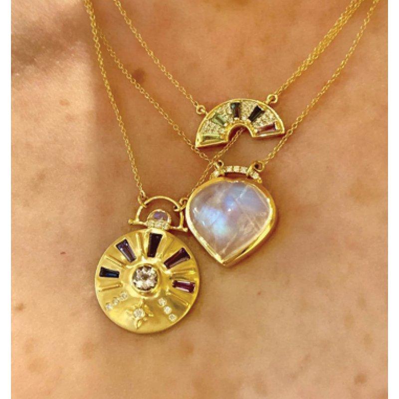 Rainbow Necklace by Theresa Kaz