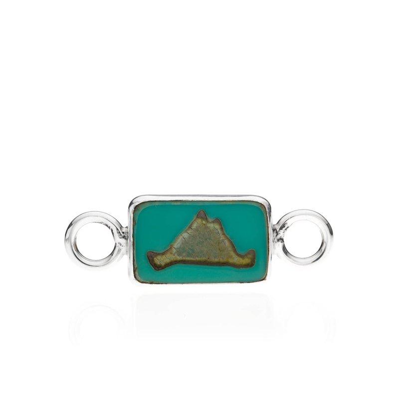 Martha's Vineyard Tile Changeable Bracelet top