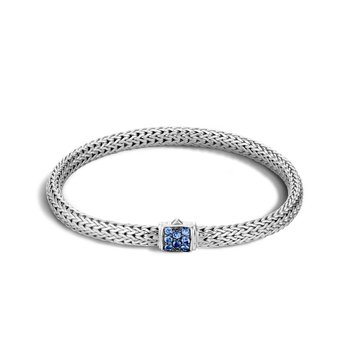 John Hardy Classic extra-small chain bracelet with Sapphires
