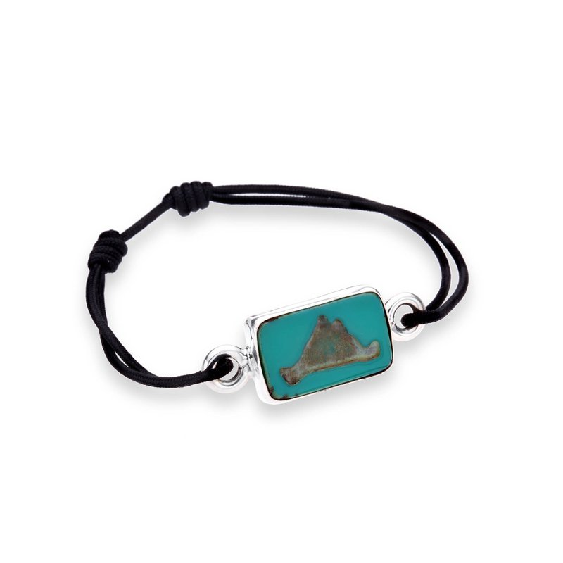 Martha's Vineyard Tile Tie bracelet