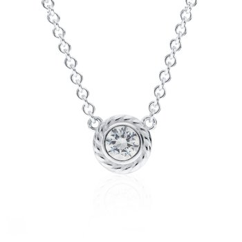 Rigging Collection Cubic Zirconia Necklace
