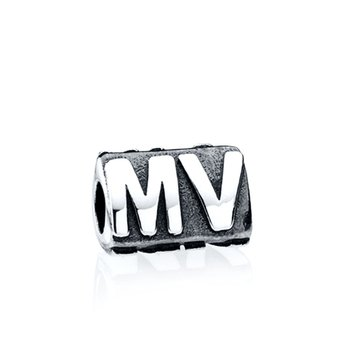 """MV"" bead"