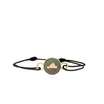 Vineyard Colors Tie bracelet in 14k gold