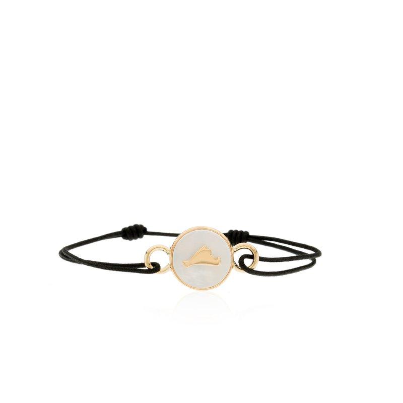 Vineyard Colors Tie bracelet in 14k gold
