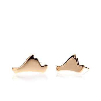 Contemporary Martha's Vineyard earrings