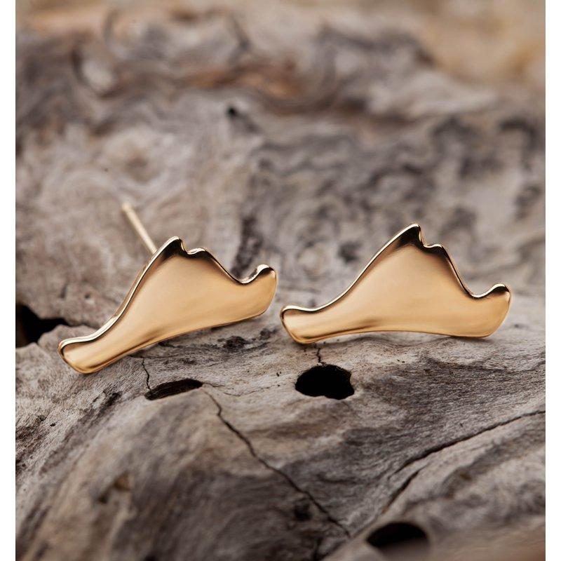 Contemporary Martha's Vineyard earrings
