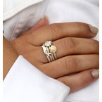 Cable ring with Sand Dollar