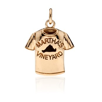 Martha's Vineyard T-shirt charm