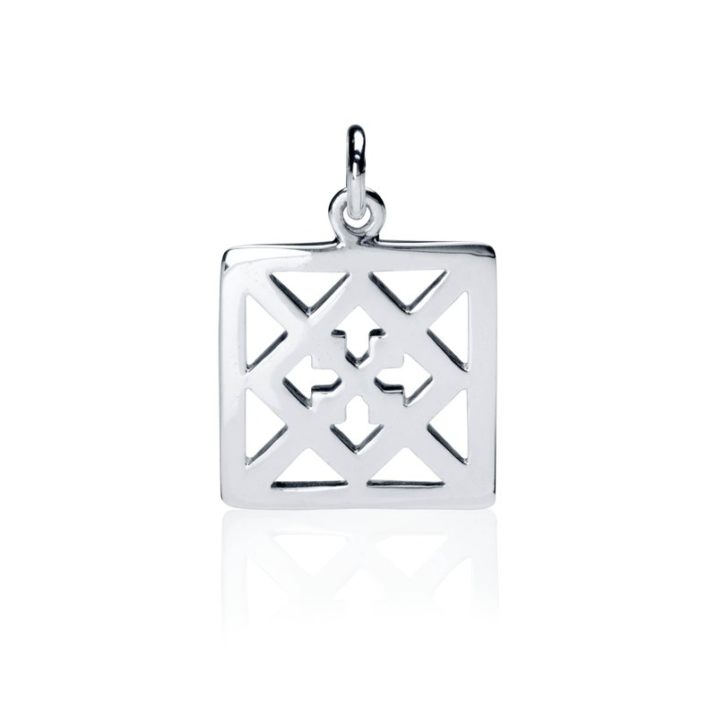 Gingerbread Collection Square charm