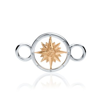 Compass Rose changeable bracelet top