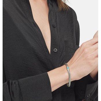 John Hardy Classic Chain Bracelet with Arizona Turquoise