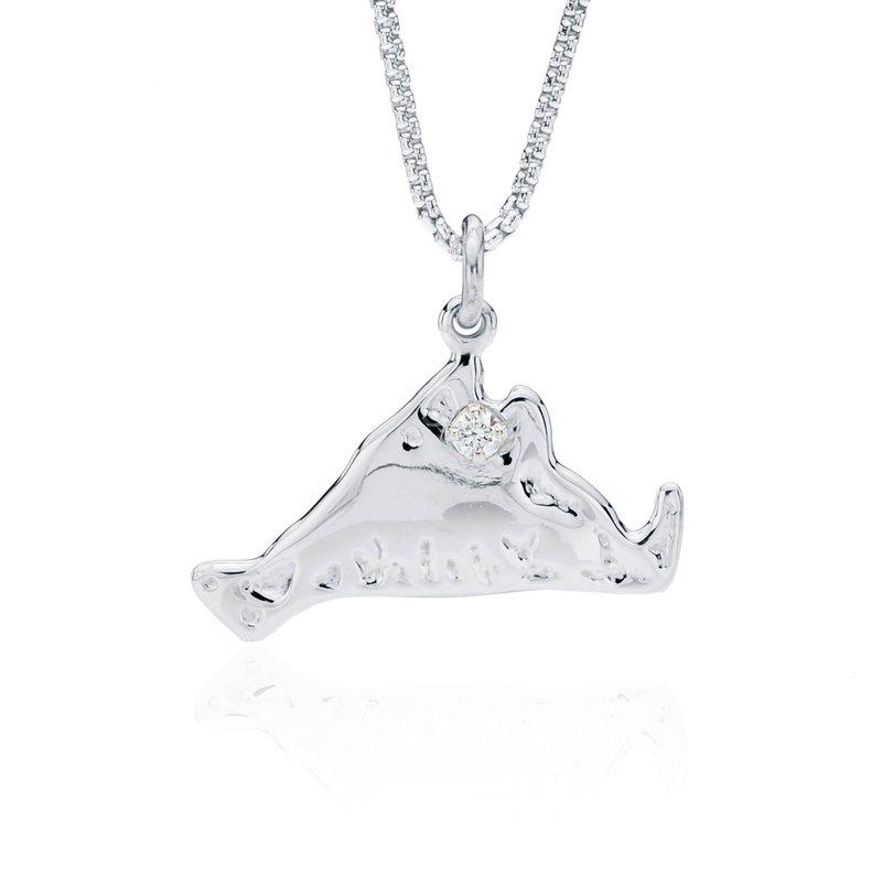 Martha's Vineyard pendant with diamond