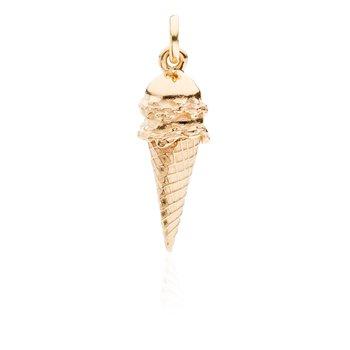 Double Scoop Ice Cream Cone charm