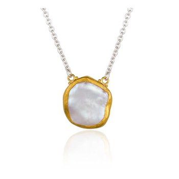 "Lika Behar ""Rosalie"" Keshi pearl necklace"