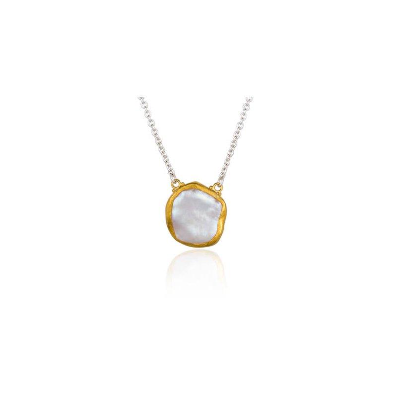 "Lika Behar ""Rosalie"" Keshi pearl necklace"