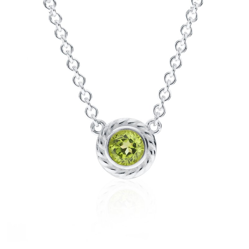 Rigging Collection Peridot Necklace