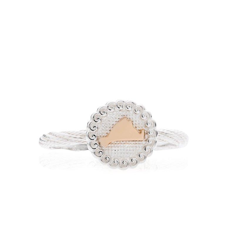 Framed Martha's Vineyard ring