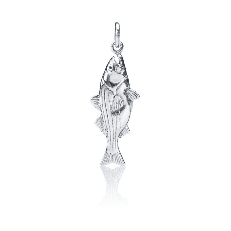 Striped Bass charm