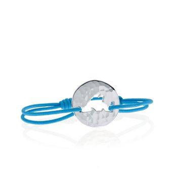 Hammered Island Tie bracelet Large