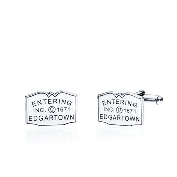 Entering Sign cufflinks