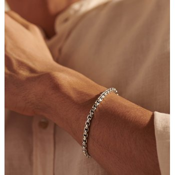 John Hardy Men's Box Chain Bracelet