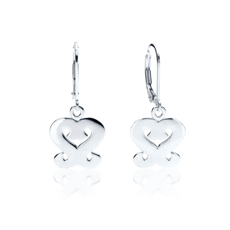 Gingerbread Collection Heart earrings