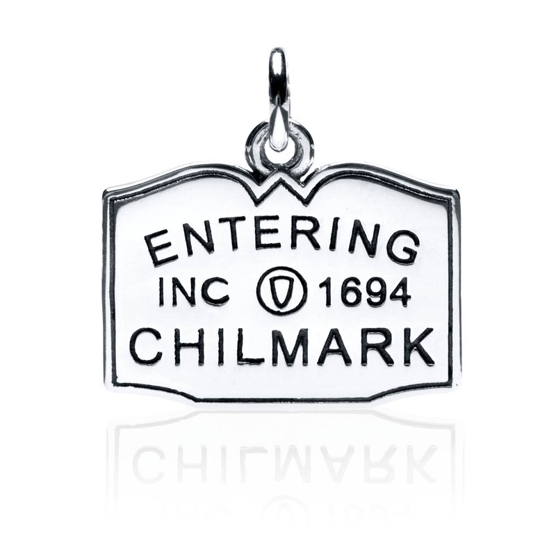 Entering Chilmark Town Sign charm